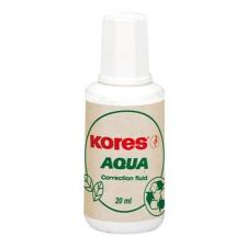 """KORES Hibajavító folyadék, vízbázisú, 20 ml, KORES """"Aqua"""" hibajavító"""