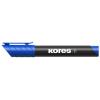 """KORES """"Marka"""" 3-5 mm kúpos kék alkoholos marker"""