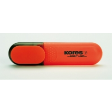 KORES szövegkiemelő, narancssárga filctoll, marker