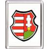 Kossuth címer hűtőmágnes (műanyag keretes)