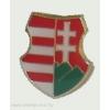 Kossuth címer jelvény 15 mm ezüst színű