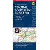 Közép- és Dél-Anglia térkép - AA