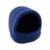 Krakvet Ovális kutyaház fekhely sötét kék 37x35x32cm