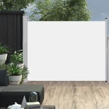 Krémszínű behúzható oldalsó teraszi napellenző 170 x 500 cm kerti bútor