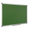 Krétás tábla, zöld felület, nem mágneses, 60x90 cm, alumínium keret