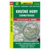 Krušné hory - Chomutovsko / Érchegység / Erzgebirge turistatérkép/ Shocart