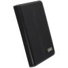 Krusell Luna támasztós bőrtok Samsung P3100 Galaxy Tab 2 7.0-hoz fekete
