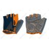 KTM Factory Line rövid ujjú kesztyű zselés betéttel, narancs/sötétkék S-es