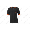 KTM Factory Prime rövid ujjú kerékpáros mez fekete/narancs M