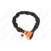 KTM Zár Lánc KTM Chain Lock 85cm, tartóval, fekete/narancs
