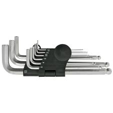 Kulcskészlet HEX (IMBUSZ) 9db 1.5-10mm gömbvégű imbuszkulcs