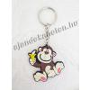 Kulcstartó majom