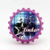 Kupak sörnyitó hűtőmágnes neves, Linda