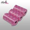 Kutyakiegészítő: Kutyapiszok gyűjtő zacskó, rózsaszín mintás színben