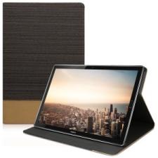 kwmobile Huawei MediaPad M5 10 flip tok - fekete tok és táska