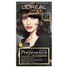 L´Oréal Paris L'Oréal Paris Préférence 4.15/M1 intenzív mélybarna prémium ultra-ellenálló hajfesték