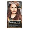 L´Oréal Paris L'Oréal Paris Préférence 5.25/M2 jeges gesztenyebarna prémium ultra-ellenálló hajfesték