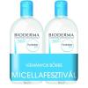 Laboratoire Bioderma Bioderma Hydrabio H2O arc- és sminklemosó 500ml+500ml DUO PACK