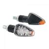 """Lampa Lampa """"Tuareg"""" LED motorkerékpáros index párban - Karbon"""