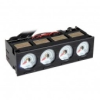 Lamptron CU423 ventilátor vezérlő 5,25 - fekete