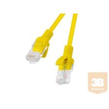 Lanberg Patchcord RJ45 cat. 5e FTP 20m yellow kábel és adapter