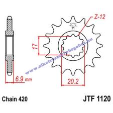 Lánckerék első JTF1120 420 12 fogas Minarelli AM6 lánc, láncszett