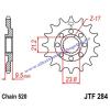 Lánckerék első JTF284SC 520 13 fogas