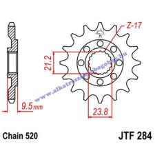 Lánckerék első JTF284SC 520 14 fogas lánc, láncszett