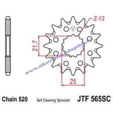 Lánckerék első JTF565SC 520 14 fogas lánc, láncszett