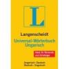 Langenscheidt LANGENSCHEIDT UNIVERSAL WÖRTERBUCH UNGARISCH