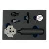 """Laser Tools Fékcsőperemező készlet járművön is használható 4,75 mm és 3/16"""" (LAS-6728)"""