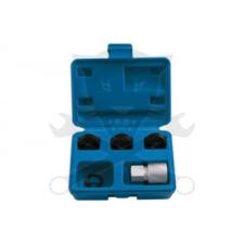 Laser Tools Menetjavító klt. kerékcsavar külső menetéhez M12x1.25-M12x1.5-M14x1.5 (LAS-5216) menetmetsző, menetfúró