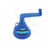Laser Tools Tölcsér duplán hajlított, olaj / üzemanyag -beépített szűrővel- kék (LAS-7029)