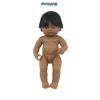 Latin amerikai karakterű fiú hajasbaba (38 cm), Miniland
