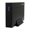"""LC POWER 3,5"""" LC-35U3 Sirius USB 3.0 külső fekete merevlemez ház"""