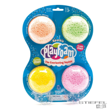 Learning Resources Playfoam-habszivacs ragyogó gyurma (4db) gyurma