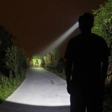 LED akkus fejlámpa elemlámpa