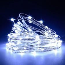 LED tündérfény égősor, napelemes világítás