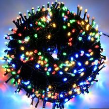 Ledfillér Napelemes 300 LED-es színes karácsonyi fényfüzér, kerti égősor karácsonyi dekoráció