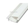 LEDvonal Aluminium profil LED szalaghoz , oldalfalba , lépcsőbe építhető , WALL