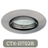 LEDvonal Beépíthető spot lámpatest Luto CTX-DT02B mattkróm