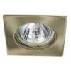 LEDvonal Beépíthető spot lámpatest Navi CTX-DS10 patinált réz