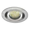 LEDvonal Beépíthető spot lámpatest , SEIDY CT-DTOL50-AL , szimpla keret , MR16 , mattkróm