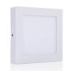 LEDvonal LED panel , 12W , falon kívüli , négyzet , hideg fehér