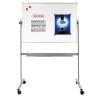 LEGAMASTER ECONOMY forgatható mágneses fehértábla (whiteboard) 100x200 cm