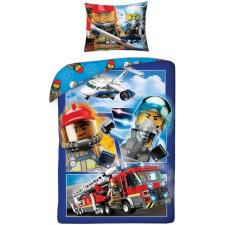 LEGO City ágyneműhuzat szett 140*200 cm, 70*90 cm, Tűzoltó lakástextília