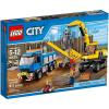 LEGO CITY Markoló és teherautó 60075