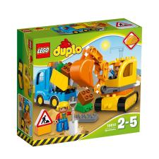 LEGO Duplo Teherautó és lánctalpas 10812 lego