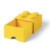 LEGO Fiókos tároló doboz 2x2 sárga