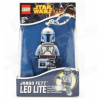 LEGO Jango Fett világító kulcstartó (LGL-KE67)